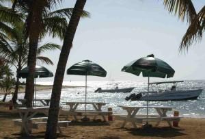 Three Tables, Las Ballenas Beach, Las Terrenas, Dominican Republic