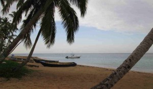 Excursion Boats and Fishing Boat Las Ballenas Beach, Las Terrenas, Dominican Republic